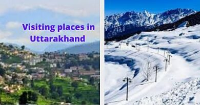 Visiting places in uttarakhand