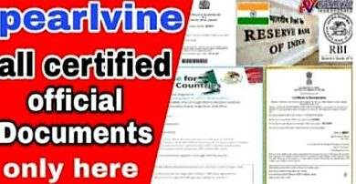 Pearlvine Legal documents